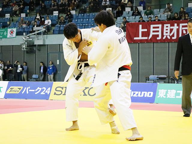 男子81kg級 決勝戦 佐藤正大 vs 小原挙哉�@