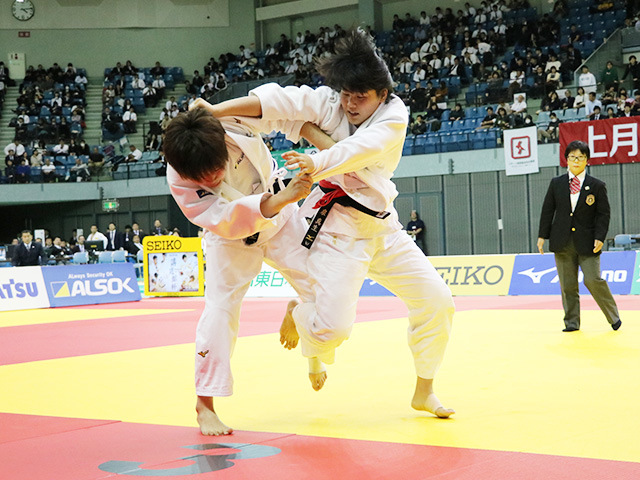 女子78kg級 決勝戦 泉真生 vs 梅木真美�@