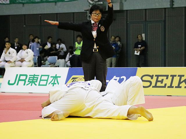 女子78kg級 決勝戦 泉真生 vs 梅木真美�B