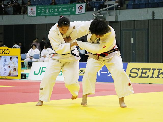 女子78kg超級 決勝戦 井上あかり vs 秋場麻優�@