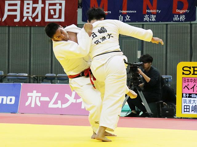 男子90kg級 ベイカー茉秋 vs 田嶋剛希