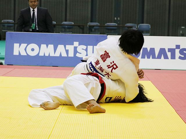 女子57kg級 舟久保遥香 vs 富沢佳奈