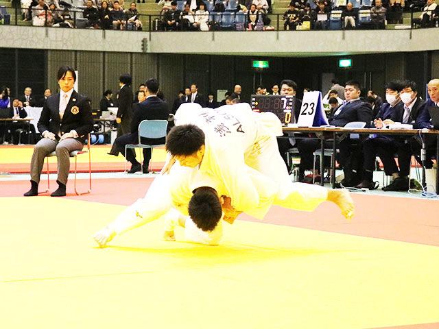 男子66kg級 西山祐貴 vs 浅利昌哉