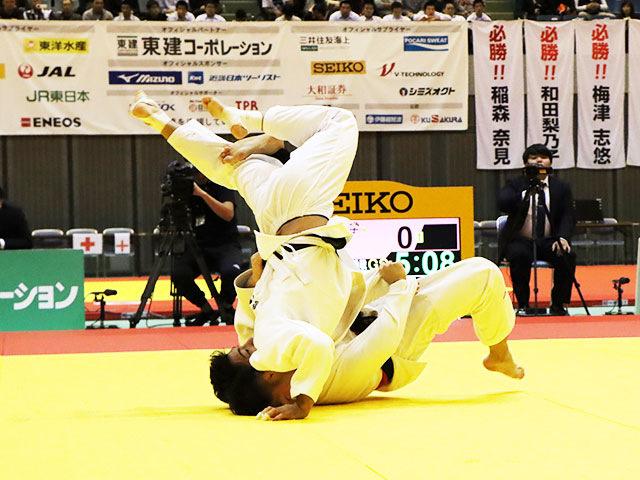 男子66kg級 相田勇司 vs 西山祐貴