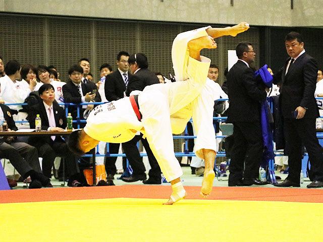 男子73kg級 島田隆志郎 vs 石原樹