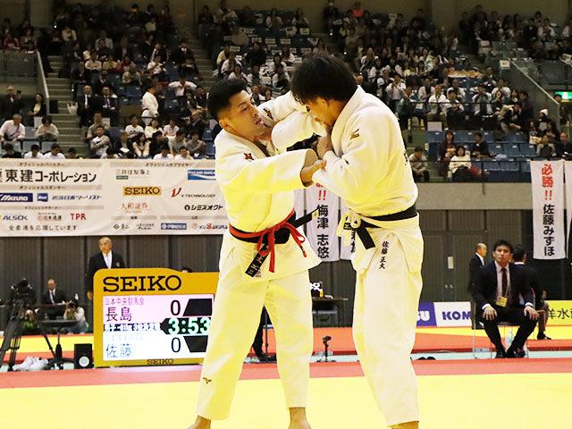 3位決定戦 長島啓太 vs 佐藤正大