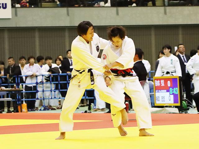 女子70kg級 宇野友紀子 vs 青柳麗美