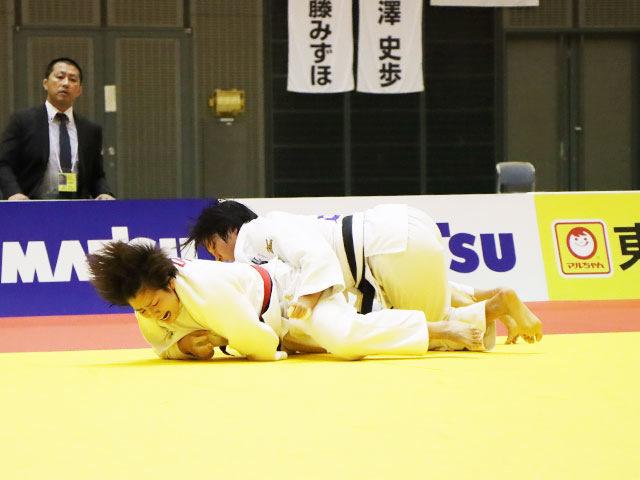 女子70kg級 田中志歩 vs 宇野友紀子