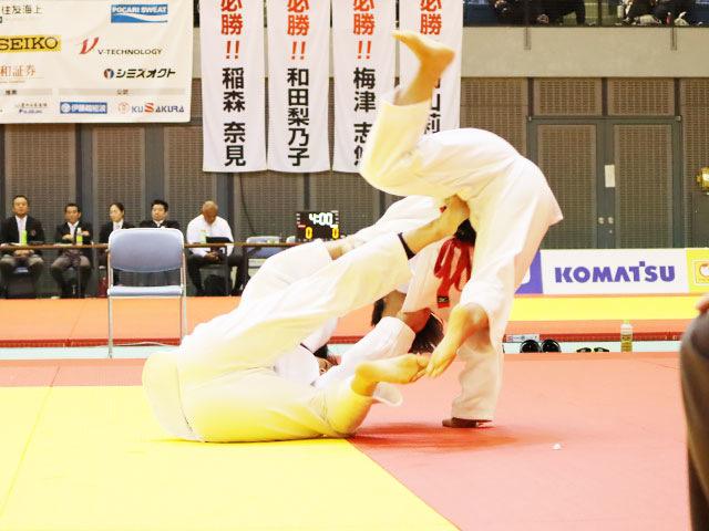 準決勝戦 和田梨乃子 vs 髙山莉加