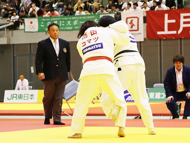 女子78kg超級 冨田若春 vs 児玉ひかる