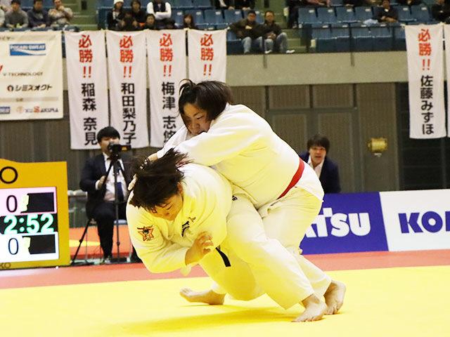 決勝戦 冨田若春 vs 山部佳苗②