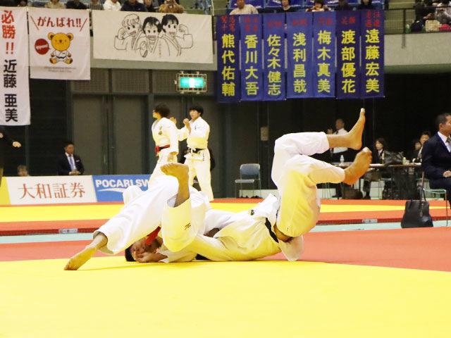 男子90kg級 ベイカー茉秋 vs 前田宗哉