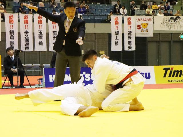 決勝戦 村尾三四郎 vs ベイカー茉秋②