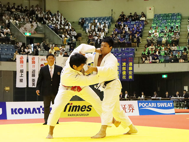 男子100kg級 羽賀龍之介 vs 西山大希