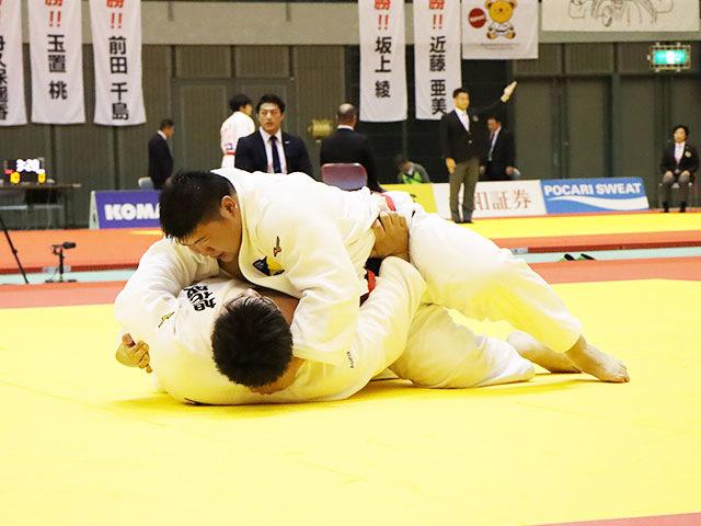 男子100kg超級 香川大吾 vs 王子谷剛志