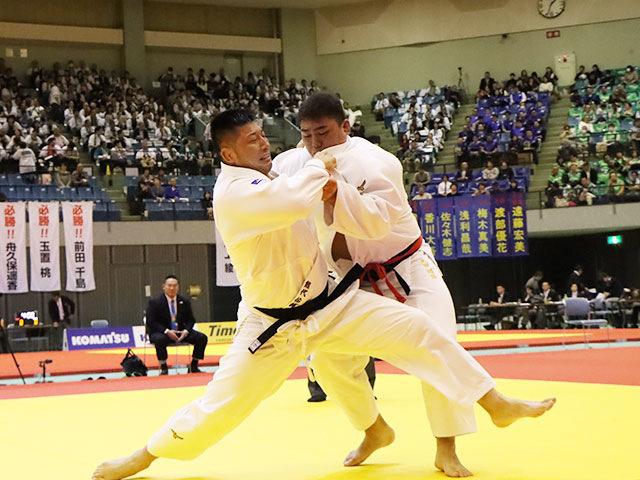 男子100kg超級 太田彪雅 vs 熊代佑輔