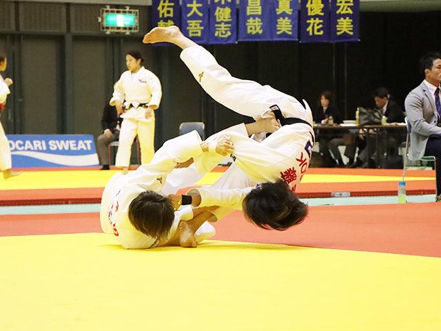 女子48kg級 角田夏実 vs 遠藤宏美
