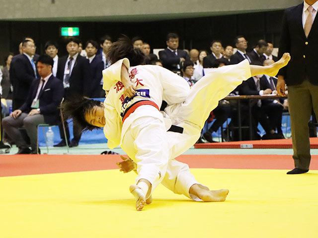 女子48kg級 渡邉愛子 vs 山�ア珠美