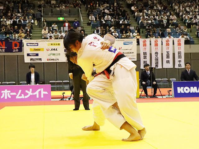 女子52kg級 内尾真子 vs 立川莉奈