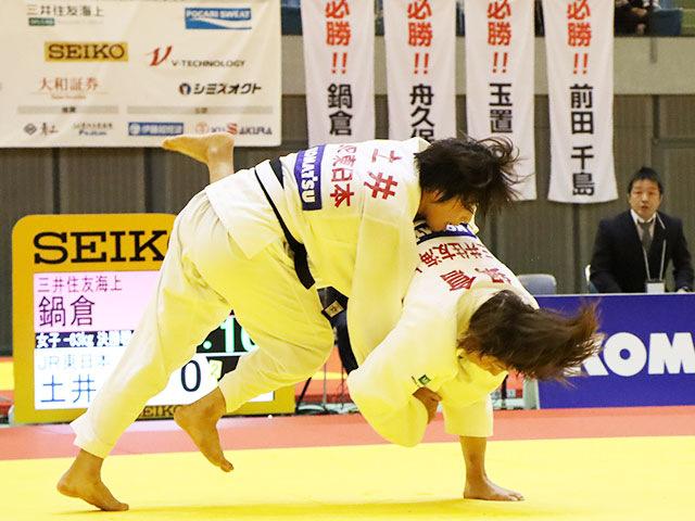 決勝戦 鍋倉那美 vs 土井雅子②