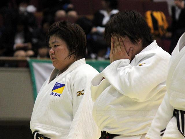 田知本選手と山部選手