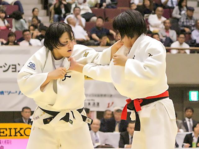 2018年皇后盃 2回戦 井上舞子 vs 田嶋由佳