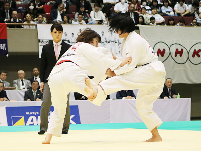 1回戦 吉岡優里vs鶴岡来雪