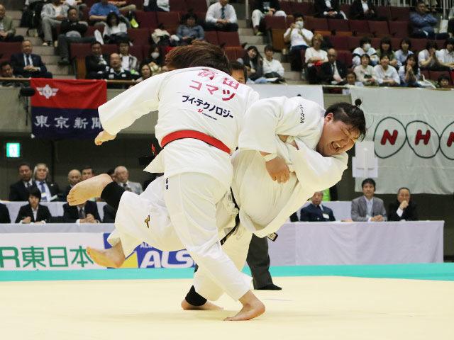 準決勝戦 冨田若春vs朝比奈沙羅�A