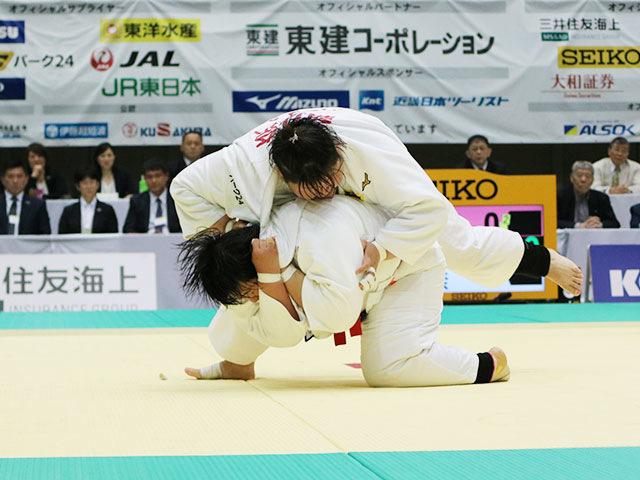 決勝戦 素根輝vs朝比奈沙羅�B