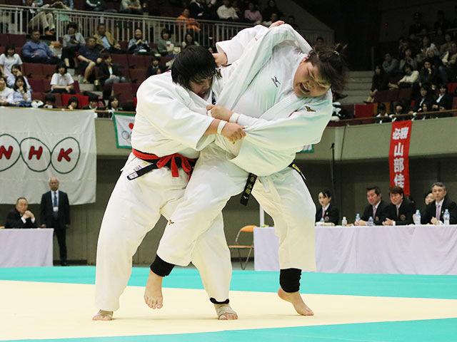 決勝戦 素根輝vs朝比奈沙羅�C