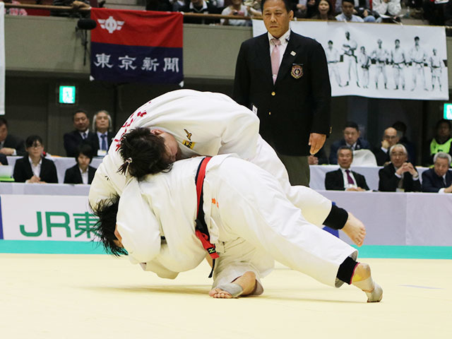 決勝戦 素根輝vs朝比奈沙羅�E