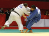 男子100kg超級 準々決勝 高橋 vs L.グジェジアニ(グルジア)