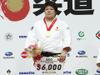 女子78kg超級 表彰式 金メダル獲得 杉本美香選手 2