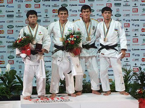 男子60kg級表彰式