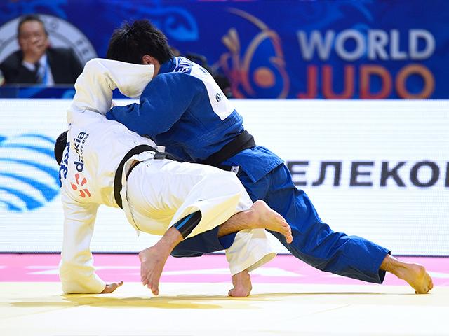 男子個人60kg級3位決定戦 志々目 徹選手 vs F.KITADAI選手�B