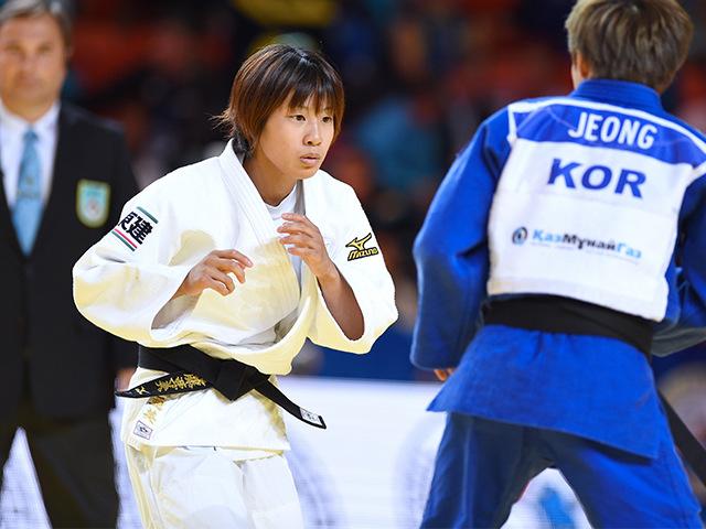 女子48kg級 準々決勝 近藤亜美 vs B.K.JEONG