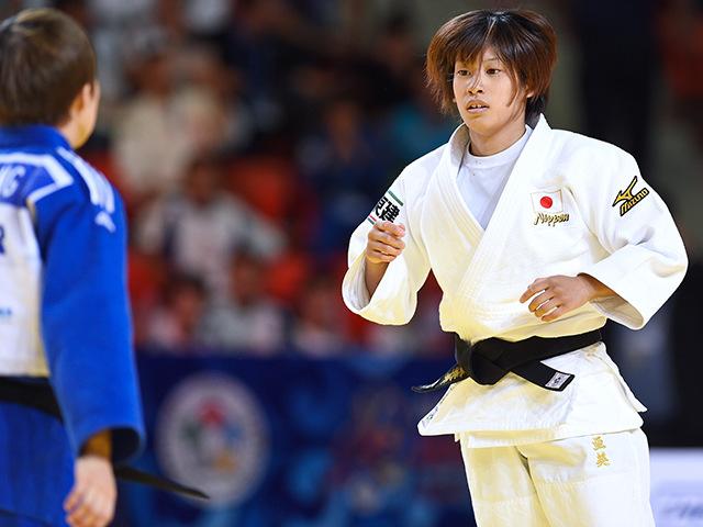 女子個人48kg級準々決勝 近藤 亜美選手 vs B.K.JEONG選手�A