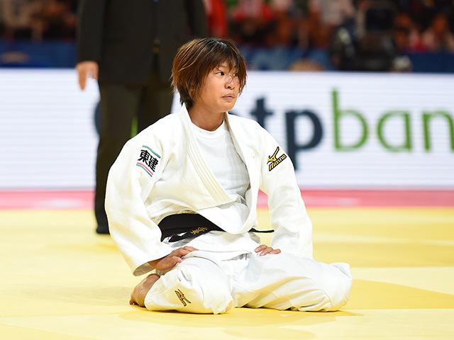 女子個人48kg級準々決勝 近藤 亜美選手 vs B.K.JEONG選手�B