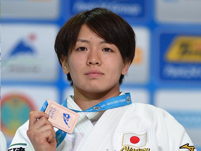 2015年アスタナ世界柔道権大会/国別団体戦 女子63kg級 表彰式 田代未来