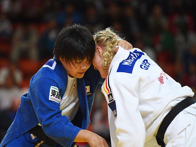 女子78kg級 準々決勝 梅木真美 vs L.MALZAHN