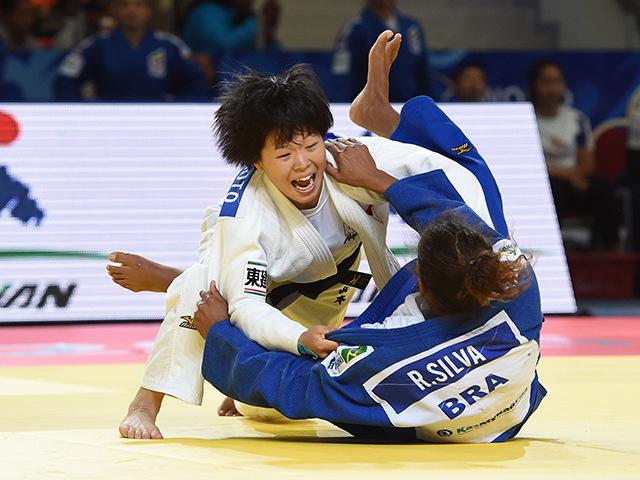 女子団体1回戦 日本 vs ブラジル