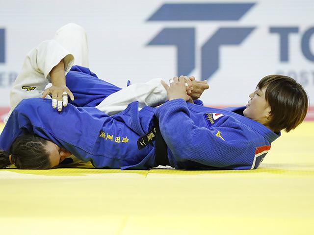 女子52kg級 2回戦 角田夏実 vs L.FREITAS