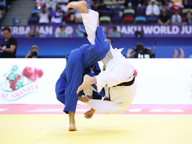 男子60kg級 3位決定戦 永山竜樹 vs H.LEE