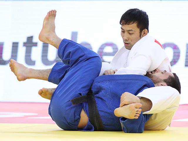男子60kg級 決勝 高藤直寿 vs R.MSHVIDOBADZE