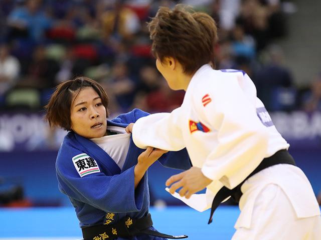 準決勝 渡名喜風南 vs U.MUNKHBAT�C