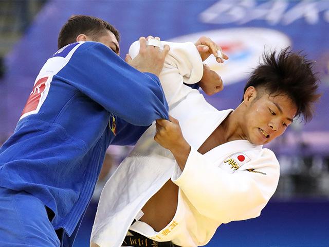 2018年バクー世界柔道選手権大会/国別団体戦 男子66kg級 4回戦 阿部一二三 vs D.VIERU
