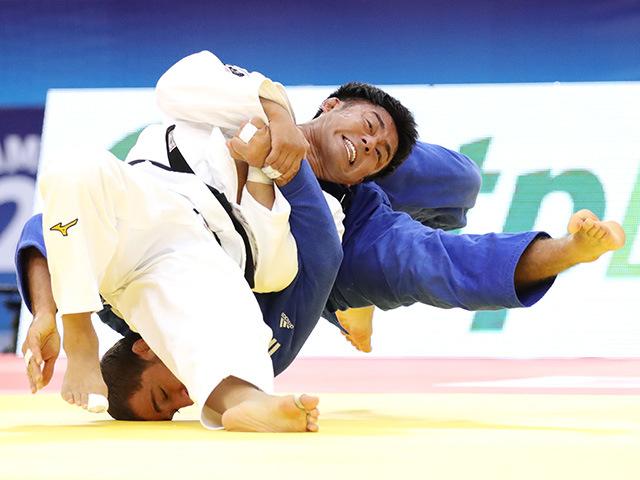男子73kg級 準決勝 橋本壮市 vs H.HEYDAROV