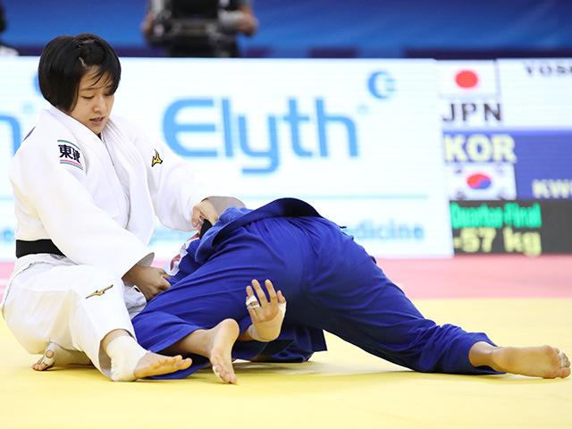 準々決勝 芳田司 vs Y.KWON�B