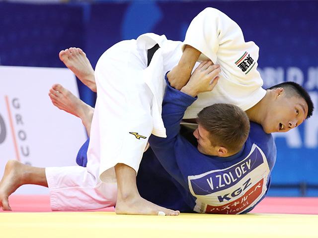 2018年バクー世界柔道選手権大会 男子81kg級 2回戦 藤原崇太郎 vs V.ZOLOEV�A