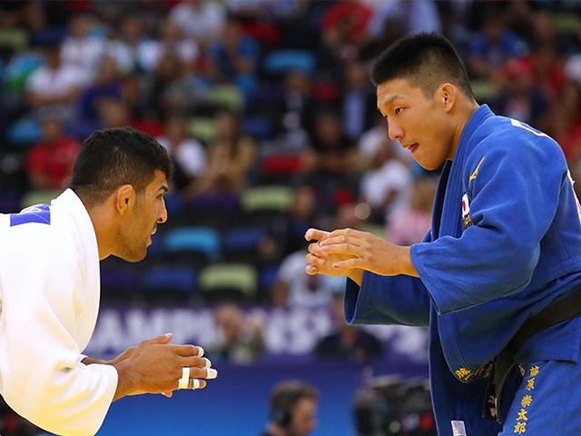 2018年バクー世界柔道選手権大会 男子81kg級 決勝 藤原崇太郎 vs S.MOLLAEI�@